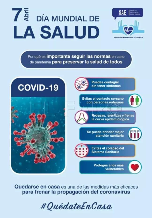 DÍA INTERNACIONAL DE LA SALUD #COVID-19