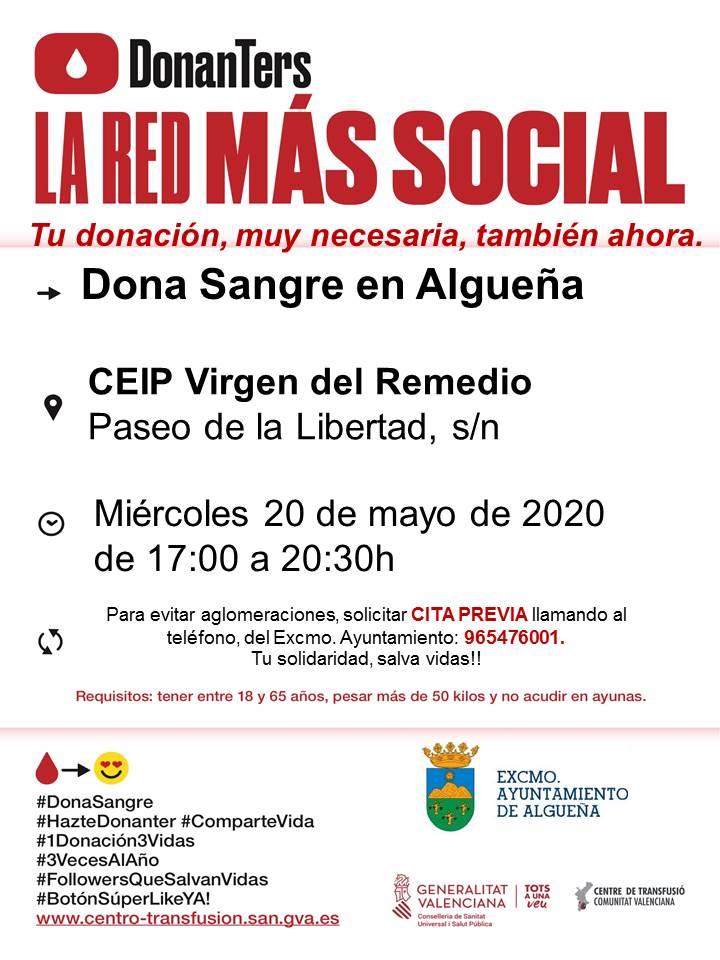 DONACIÓN DE SANGRE - #COVID-19