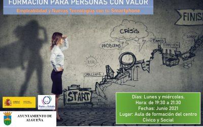FORMACIÓN «Empleabilidad y Nuevas Tecnologías con tu Smartphone»