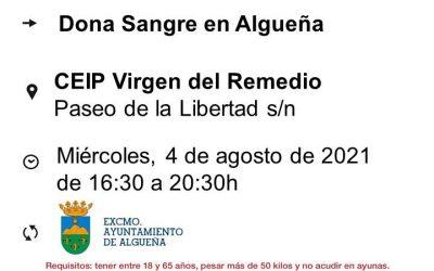 DONACIÓN DE SANGRE EN ALGUEÑA