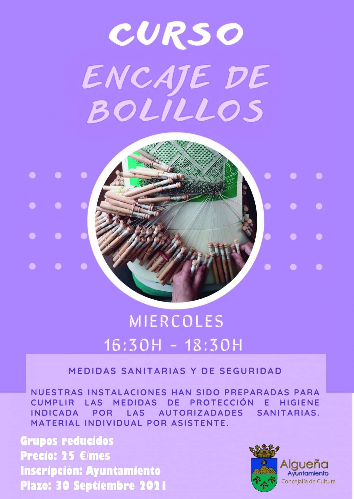 CURSO ENCAJE DE BOLILLOS